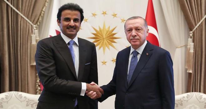 Katar Emiri Şeyh Temim, Türkiye'ye 15 milyar dolar yatırım yapacaklarını açıkladı