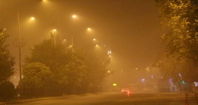 Toz bulutu Adıyaman'ı etkisi altına aldı