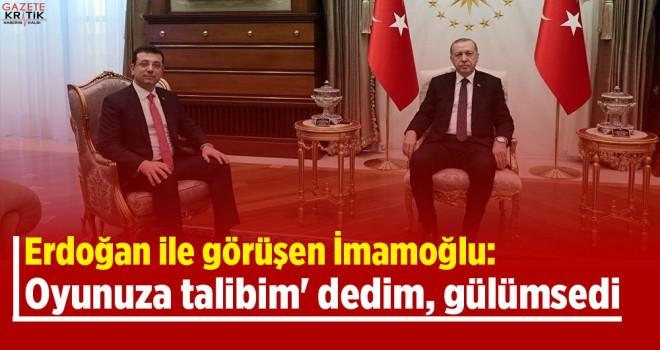 Ekrem İmamoğlu'nun o sözü Cumhurbaşkanı Erdoğan'ı...