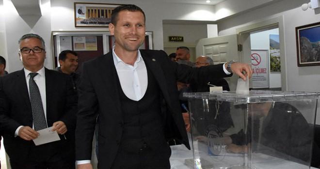 Amatör futbolcu Ziraat Odası başkanı oldu