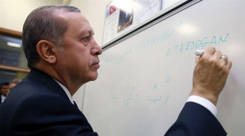 Erdoğan eğitimde temizlik yapıyor