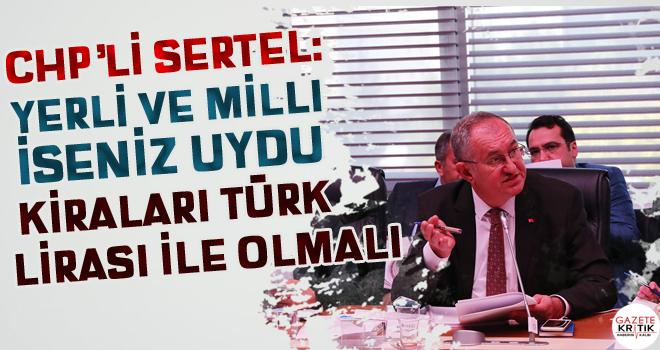CHP'li Sertel TÜRKSAT'ın televizyonlardan aldığı...