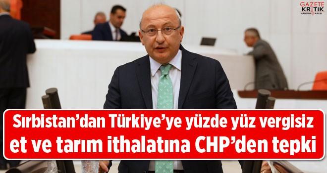 Sırbistan'dan Türkiye'ye yüzde yüz vergisiz et...