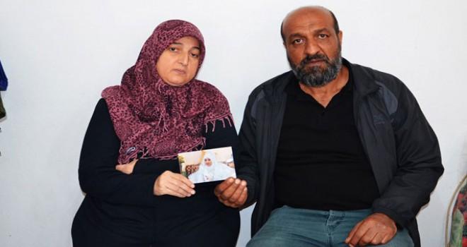 PYD/YPG kampında alıkonduğunu iddia ettiği kızı...