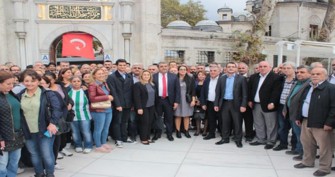 CHP'li Diken'den Miting Havasında Adaylık Açıklaması