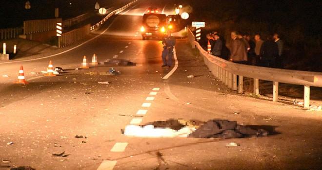 Edirne'de minibüsün çarptığı 2 kadın öldü