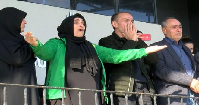 Takımı bu kez onsuz maça çıktı, gözyaşları...