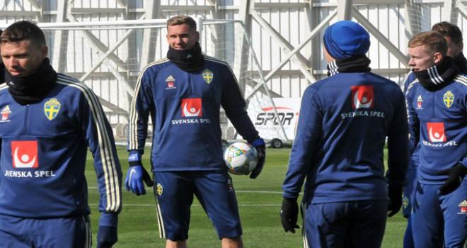İsveç, Türkiye maçının hazırlıklarını tamamladı