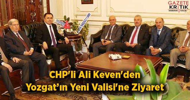CHP'li Ali Keven'den Yeni Yozgat Valisi Kadir Çakır'a...