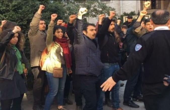İstanbul Üniversitesi'nde Kızıldere anmasında 37 gözaltı!