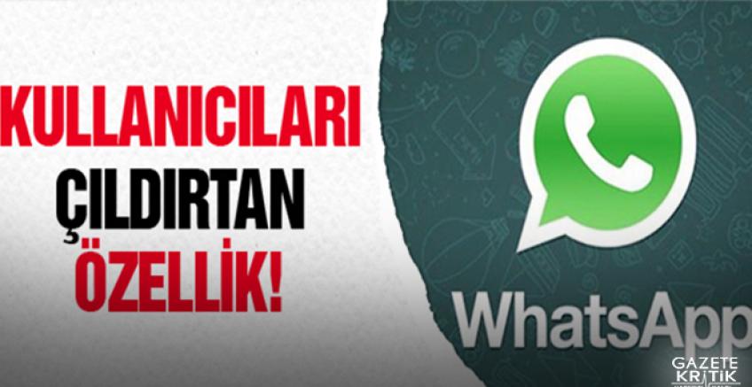 WhatsApp'tan çıldırtan yenilik!