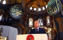 """Erdoğan, Atatürk'ün imzaladığı karara """"tarihe ihanet"""" dedi"""