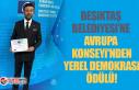 Beşiktaş Belediyesi'ne Avrupa Konseyi'nden...