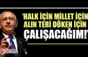 "CHP lideri Kemal Kılıçdaroğlu'ndan ""İnandığımız..."