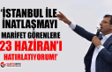 """Ekrem İmamoğlu'ndan """"Kanal İstanbul'u..."""