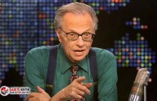 ABD'li ünlü televizyoncu Larry King hayatını...