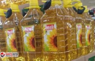 Son 1 yılda yüzde 60 zam alan ayçiçek yağı fiyatlarının...