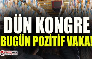 AKP İl kongresi sonrası AKP Selçuk ilçe Başkanı...