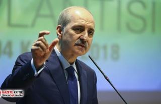 AKP'li Kurtulmuş'tan Anayasa açıklaması:...