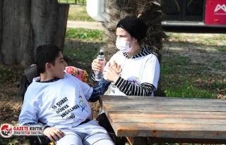 Büyükşehir'den Angelman sendromlu çocuklar için...