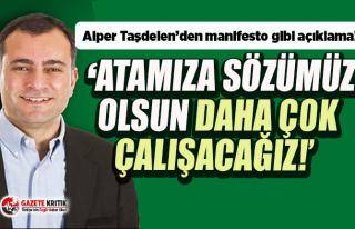 Çankaya Belediye Başkanı Taşdelen: Atamıza sözümüz...