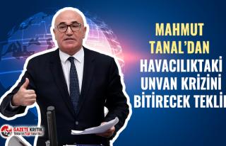 CHP'li Mahmut Tanal HAVADAKİ 'ELEMAN' KRİZİNİ...