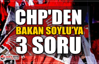 CHP'li Süleyman Bülbül'den Bakan Soylu'ya...