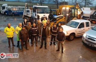 Efes Selçuk'ta belediye ekipleri sabaha kadar...