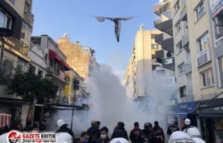 İzmir'de Boğaziçi'ne destek gösterisine...