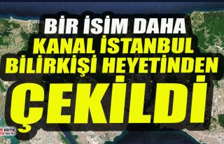 Kanal İstanbul'un bilirkişi heyetinden bir akademisyen...