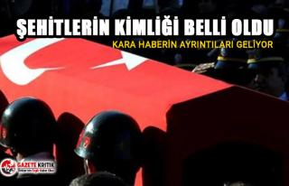 Malatya Valisi: Şehitlerimizden 10 kişinin kimliği...
