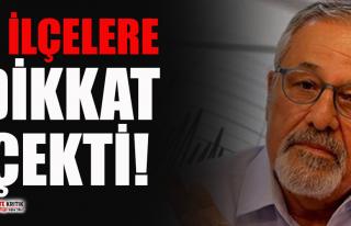 Prof. Dr. Naci Görür İzmir'in ilçelerinde...