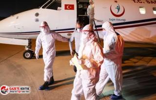 Tanzanya'daki Kovid-19 hastası 3 Türk vatandaşı...