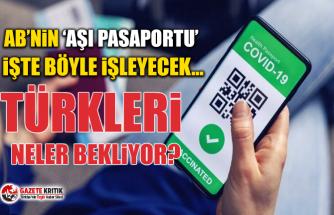 AB'nin 'Aşı Pasaportu' işte böyle işleyecek… Türkleri neler bekliyor?