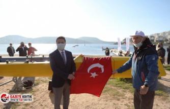 """Bodrum Belediye Başkanı Aras: """" Üç tarafı denizlerle çevrili olan Bodrum'da su sporlarına çok önem vermek durumundayız."""""""