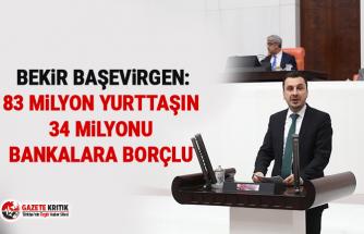 CHP'li Bekir Başevirgen:83 Milyon Yurttaşın 34 Milyonu Bankalara Borçlu