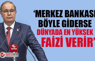 CHP'li Öztrak: Erdoğan Merkez Bankası rezervlerinin harcandığını itiraf etti, nasıl satıldığını da itiraf edecek