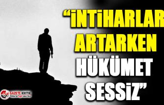 CHP'li Süleyman Bülbül:İnti̇harlar Artarken Hükümet Sessi̇z