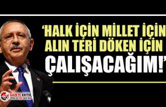 """CHP lideri Kemal Kılıçdaroğlu'ndan """"İnandığımız yoldan döndüremeyecekler!"""" çıkışı"""