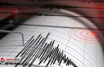 Ege Denizi'nde 4,1 büyüklüğünde deprem!