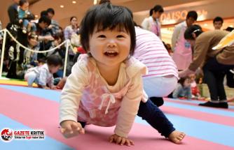 Japonya'da yeni doğan sayısı geçen yıl rekor seviyede düştü