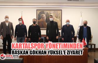 Kartalspor Yönetiminden Başkan Gökhan Yüksel'e Ziyaret