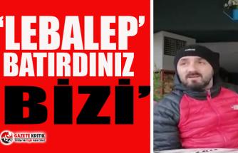 """Trabzon'da dükkanını satışa çıkaran esnaf isyan etti: ''Lebalep batırdınız bizi"""""""