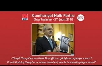 CHP Grup Toplantısı 27 Şubat 2018